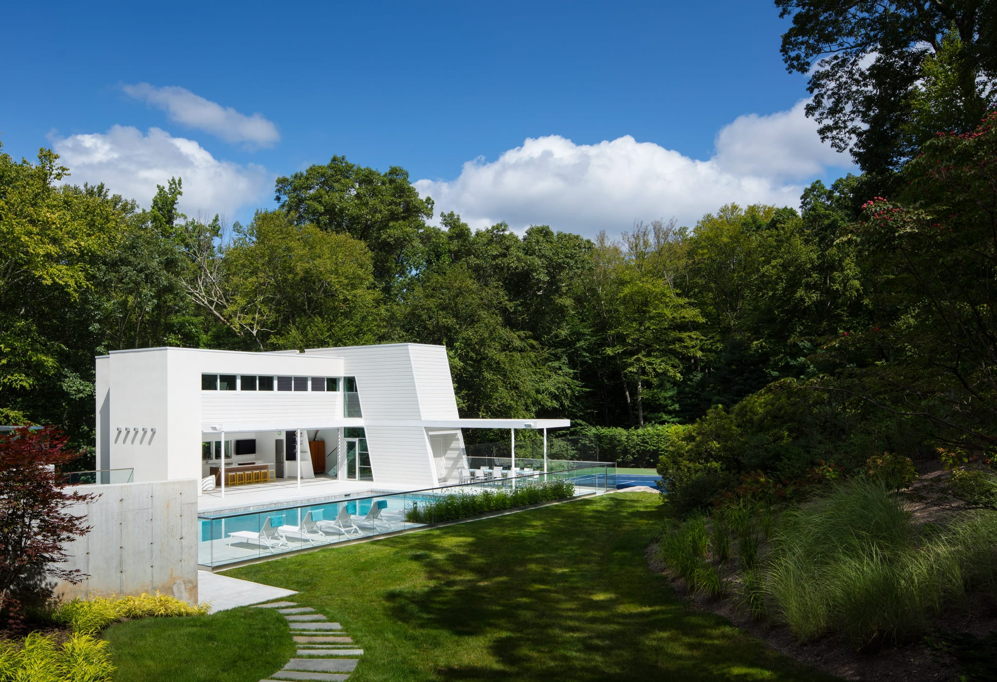 Pound Ridge Pool House